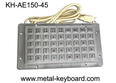 China Anti - vanda Keyboard with 45 Keys , Industrial Metal Keyboard supplier