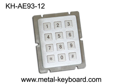 China Water Resistant 12 key keypad ,  Numeric Keypad supplier