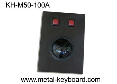 China Metal Black Marine Console Industrial trackballs Mouse with USB Interface supplier