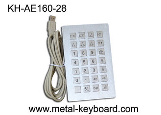 China Anti - corrosive Stainless steel Kiosk Keyboard Rugged with dust - proof supplier