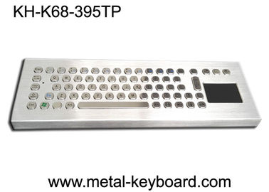 China Desktop Metal IP65 Rate waterproof keyboard with touchpad 395x135 mm Front panel supplier