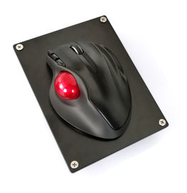China Resin + Plastic + Metal Material Industrial Trackball Mouse with 39MM Resin Trackball supplier