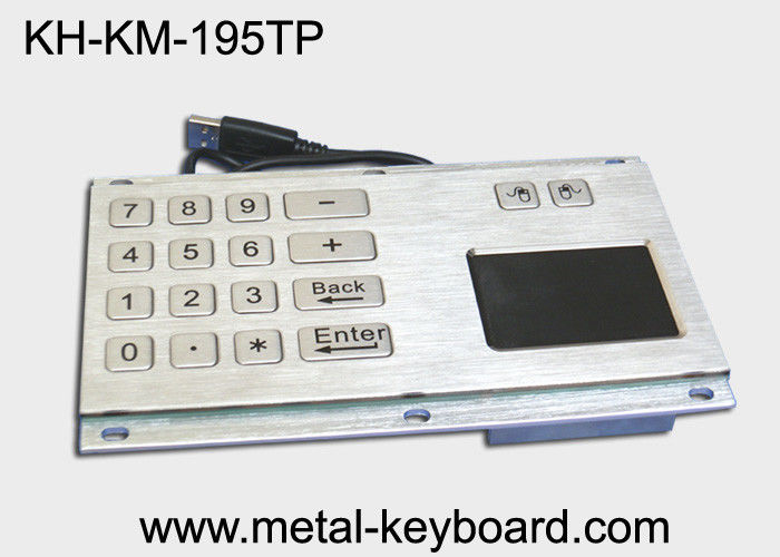 IP65 Water - proof Industrial Touchpad Keyboard with Digital Keypad Design