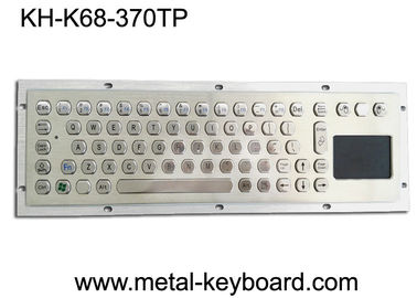 Metal Industrial Computer Keyboard With 70 Keys Touchpad Keyboard