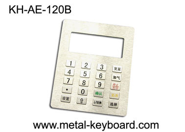 China 4 x 5 Metal Panel Mount Keypad with 20 Keys In 4x5 Matrix For Gas Station factory