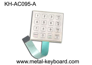 China Weather - proof Stainless Steel Keyboard for Door Access System factory