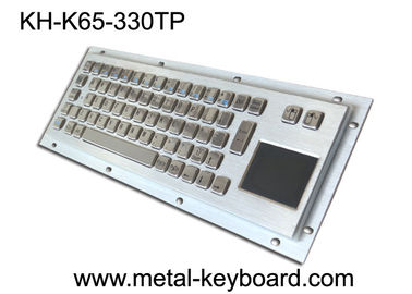 China Rugged Industrial Keyboard with Touchpad , Stainless Steel Material factory