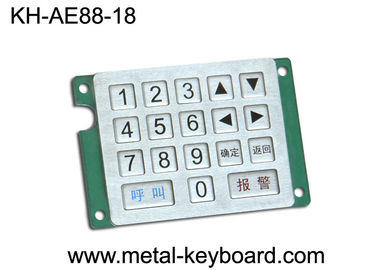 Customized Keyboard Metal Numeric Keypad with Rugged Stainless Steel Material