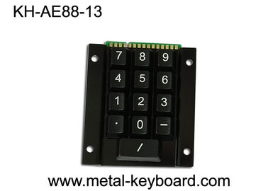 15 Keys Rugged Access Kiosk  Keypad Numeric , Metal Panel Mount Keypad