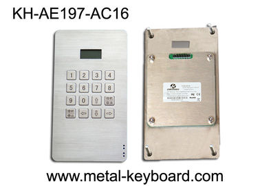 China Dustproof Access Entry System stainless steel keypad with 16 Keys factory