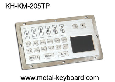 China Dust - Proof Panel Mount Keyboard with Stainless Steel Material for Info - Kiosk factory