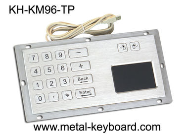 China Industrial Panel Mount Touchpad Keyboard with USB Interface , Custom Mechanical Keyboard factory