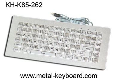 China Mini Size Water Resistant Industrial Computer Keyboard Rugged 85 Keys Customized Layout factory