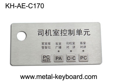 China Custom Stainless Steel Panel rugged keypad For Intelligent Parking System factory