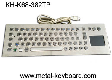 China Computer Industrial Keyboard with Touchpad , 70 Keys Waterproof Keyboard With Touchpad factory