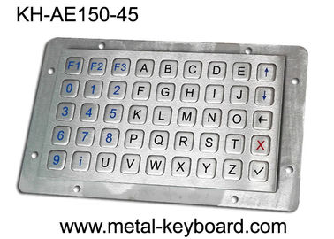 China Vandalproof Laptop Panel Mount Keyboard With Metal Panle , Usb Interface factory