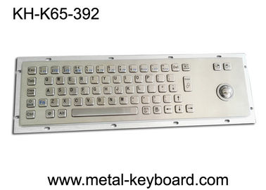 China IP65 Industrial PC Keyboard , Stock Trading Keyboard 25mm Laser Trackball factory