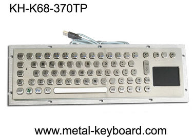 China 70 Keys Industrial Computer Keyboard Internet Friendly Key Layout With Touchpad factory