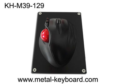 China Resin + Plastic + Metal Material Industrial Trackball Mouse with 39MM Resin Trackball factory