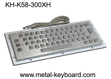 China IP65 Panel Mounted Keyboard 58 Keys Durable For Kiosk CNC Ticket Vending Machine factory