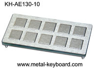 10 keys Custom Industrial Metal Keyboard Industrial Kiosk Keyboard